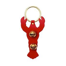 New England Bells Brass Door Chime Bell  - Lobster