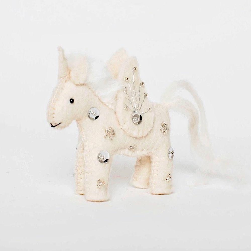 Craftspring Craftspring Kid Unicorn Ornament