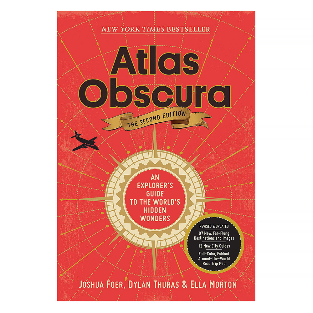 Workman Publishing Company Atlas Obscura, 2nd Edition: An Explorer's Guide to the World's Hidden Wonders