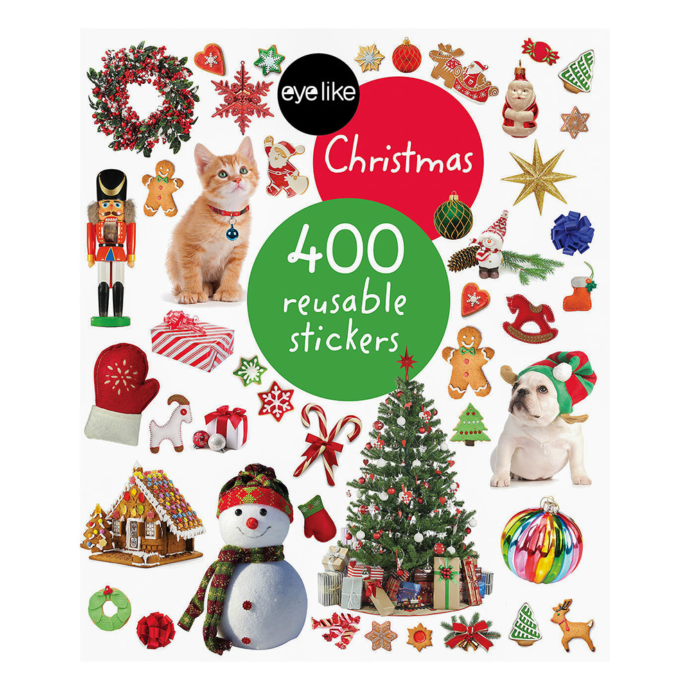 Workman Publishing Company Eye Like Stickers - Christmas