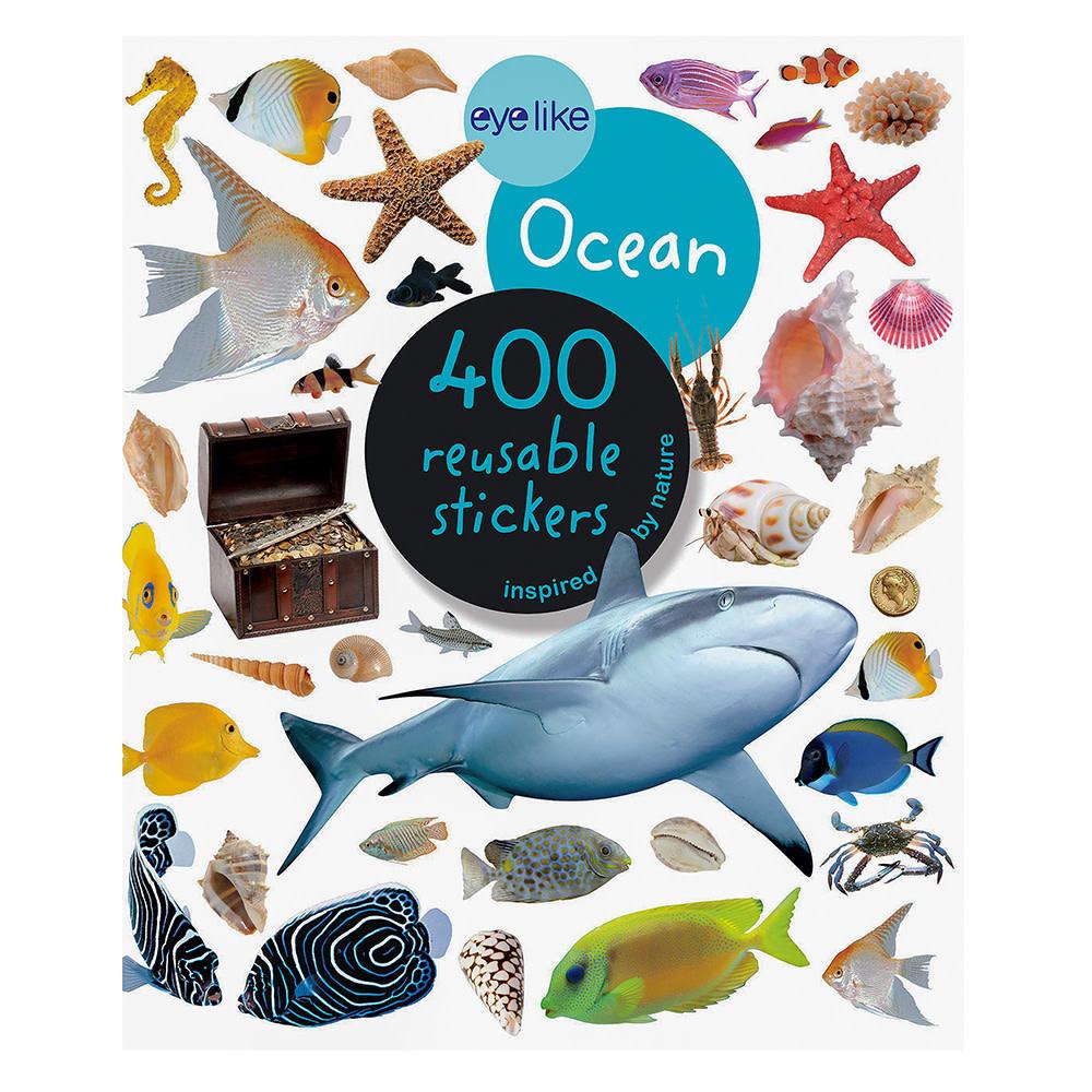 Workman Publishing Company Eye Like Stickers - Ocean