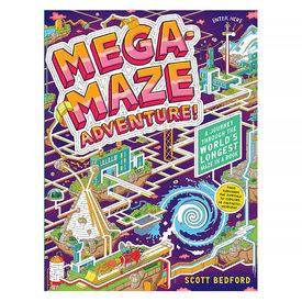 Workman Publishing Company Mega Maze Adventure