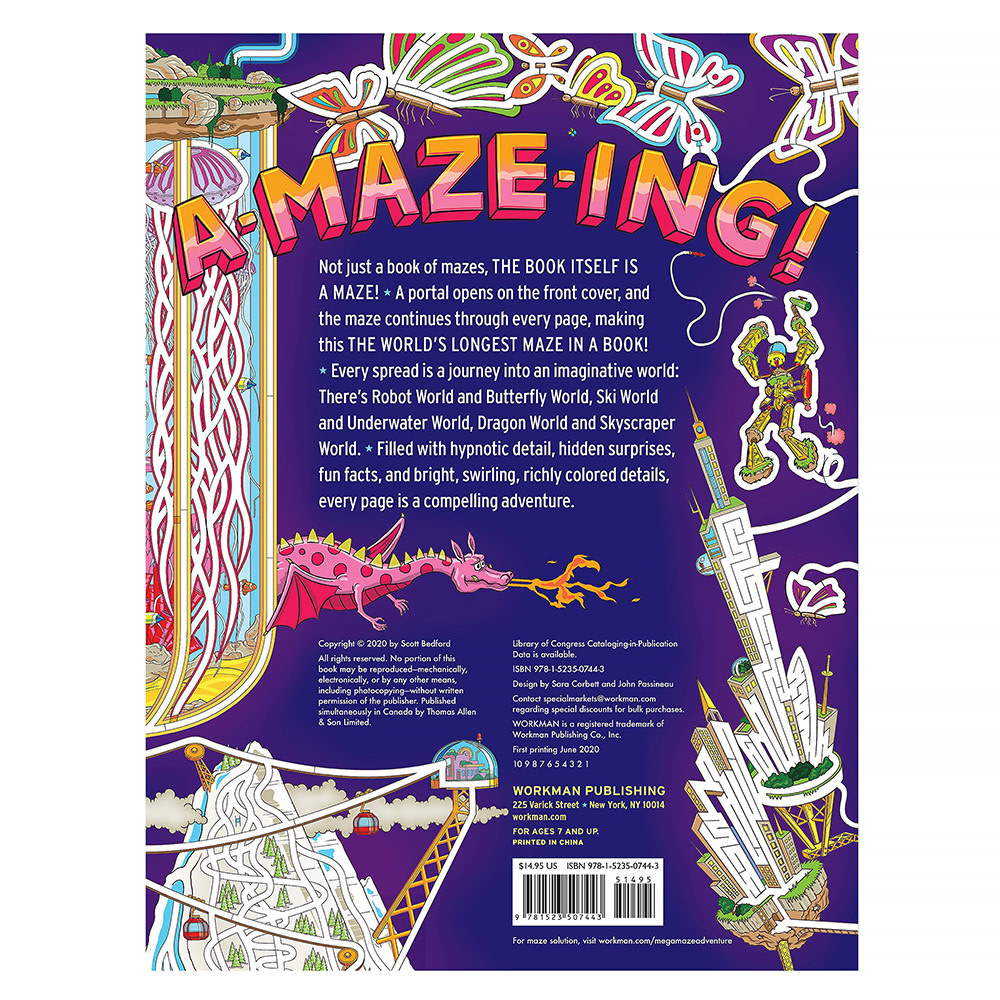Mega Maze Adventure