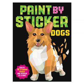 Workman Publishing Company Paint By Sticker - Dogs