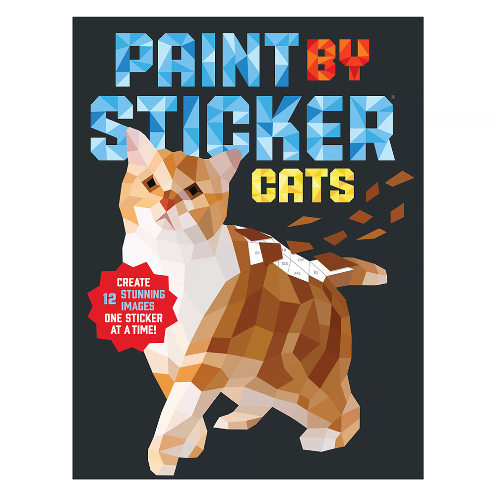 Workman Publishing Company Paint By Sticker - Cats