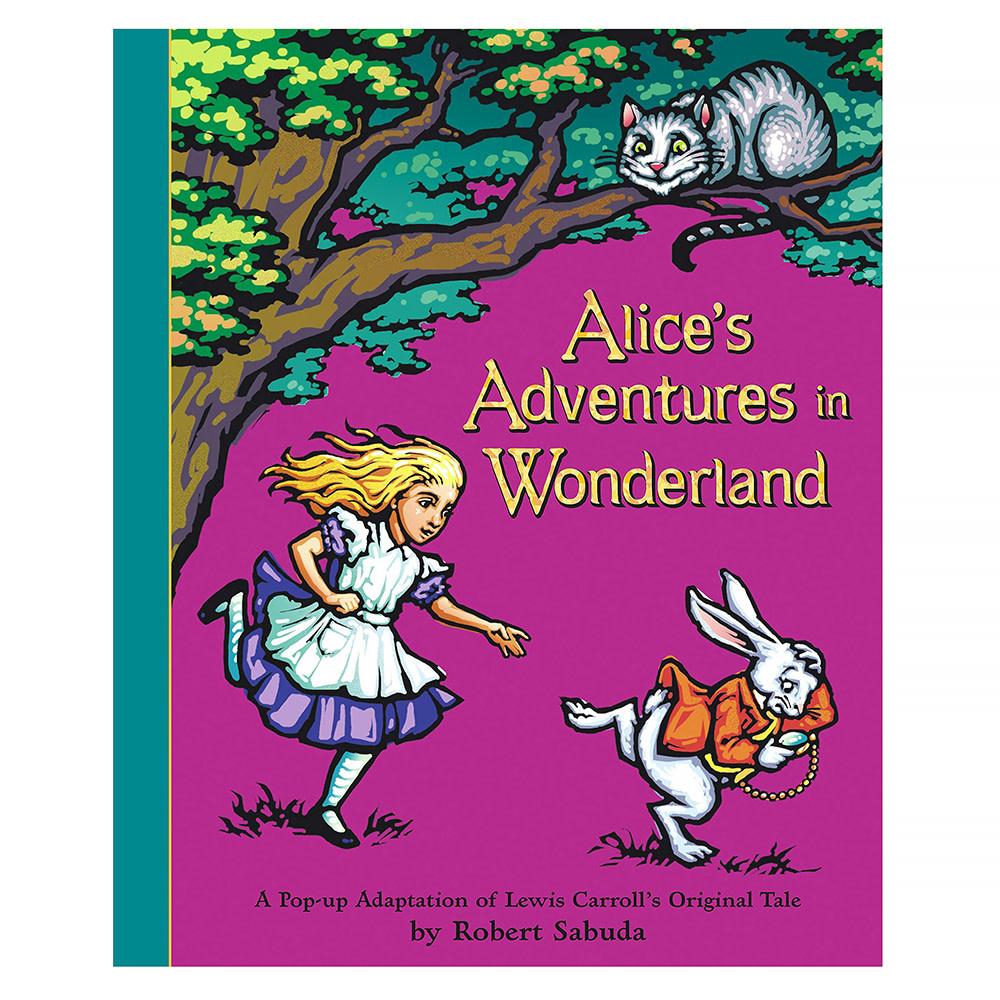 Simon & Schuster Alice's Adventures in Wonderland - A Pop-up Adaptation of Lewis Carroll's Original Tale