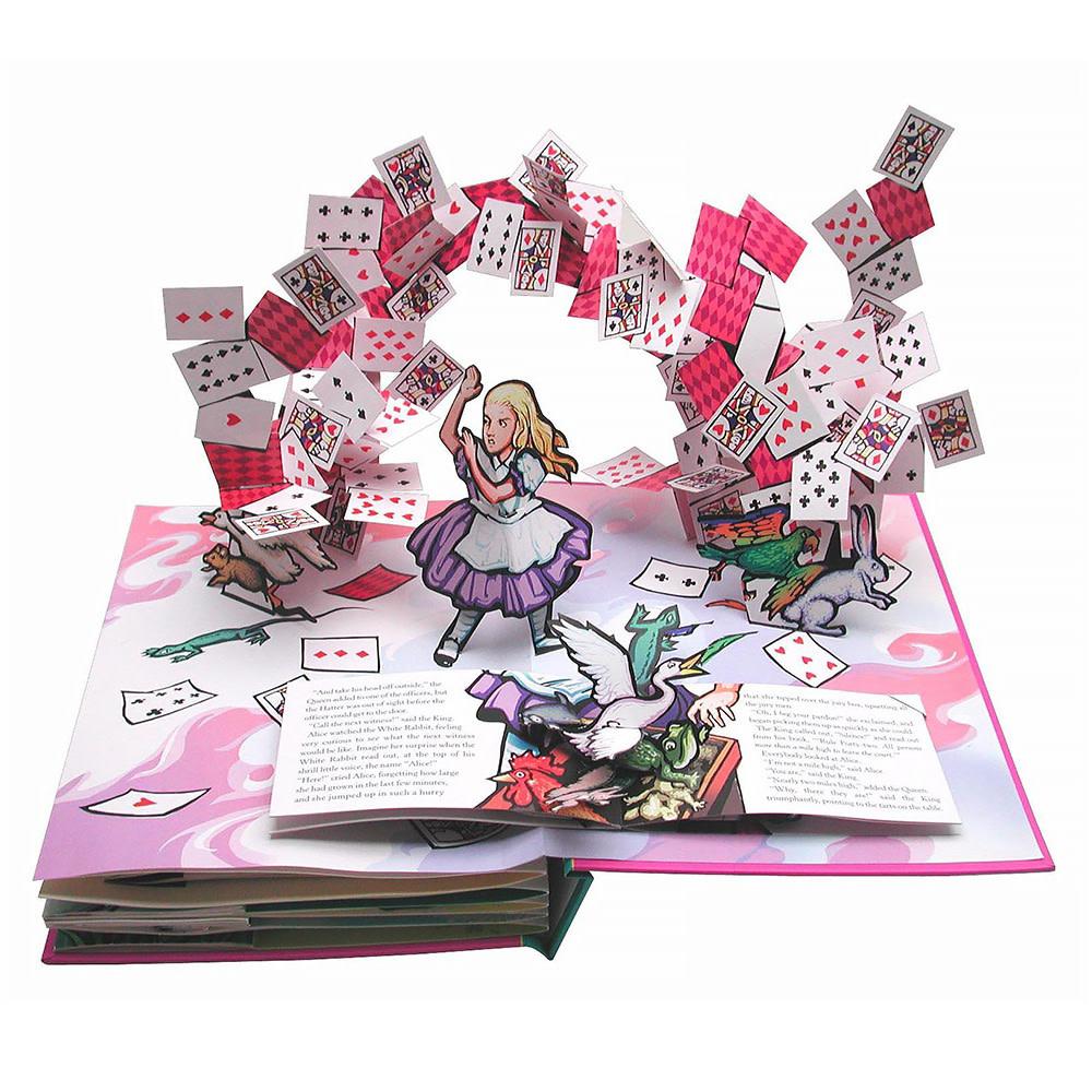 Alice's Adventures in Wonderland - A Pop-up Adaptation of Lewis Carroll's Original Tale