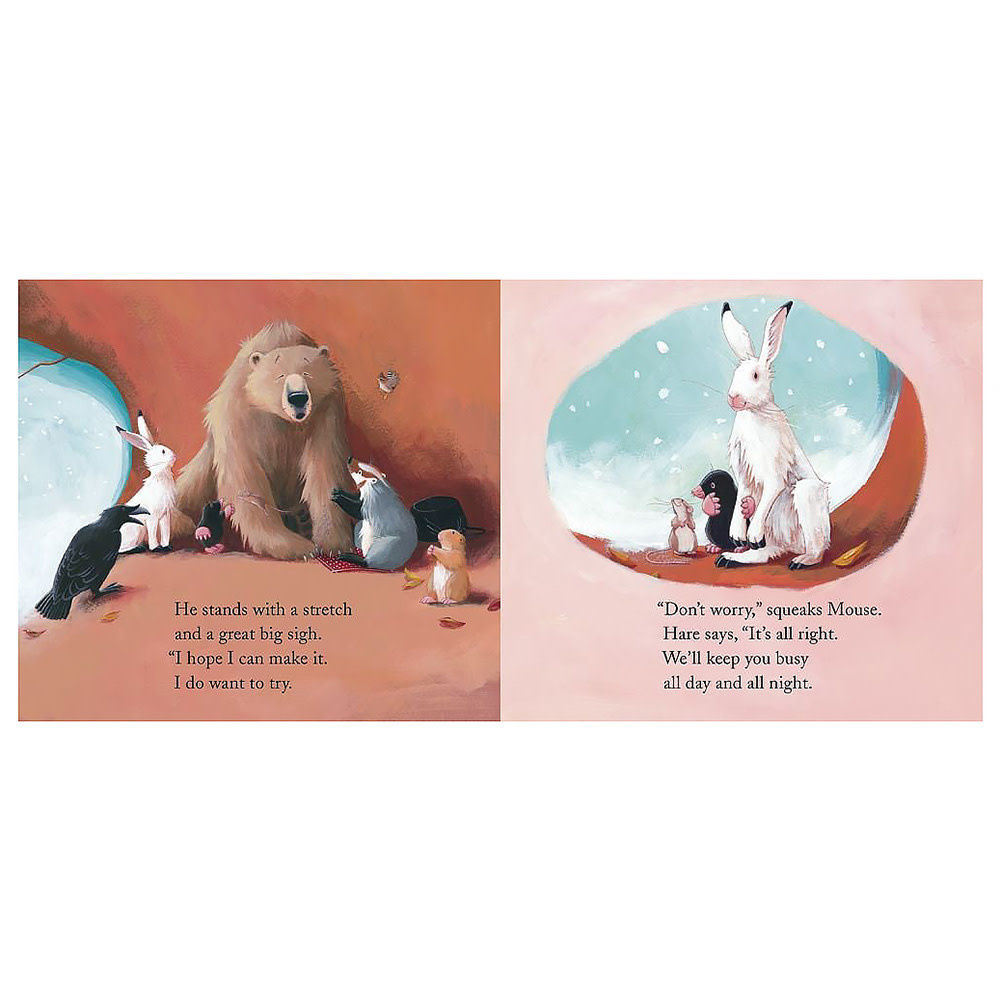 Bear Stays Up For Christmas Board Book