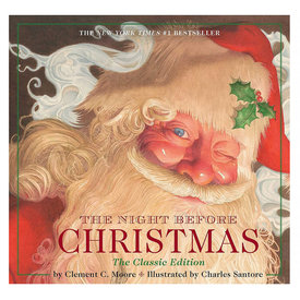 Simon & Schuster The Night Before Christmas Clement C. Moore