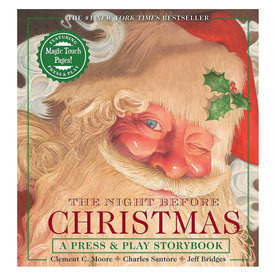 Simon & Schuster The Night Before Christmas Press & Play Storybook