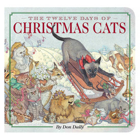 Simon & Schuster The Twelve Days of Christmas Cats Board Book