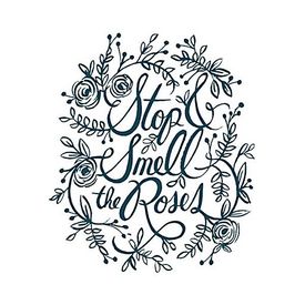 Tattly Tattly Tattoo 2-Pack - Stop and Smell the Roses