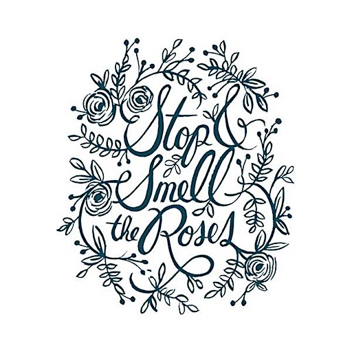 Tattly Tattoo 2-Pack - Stop and Smell the Roses