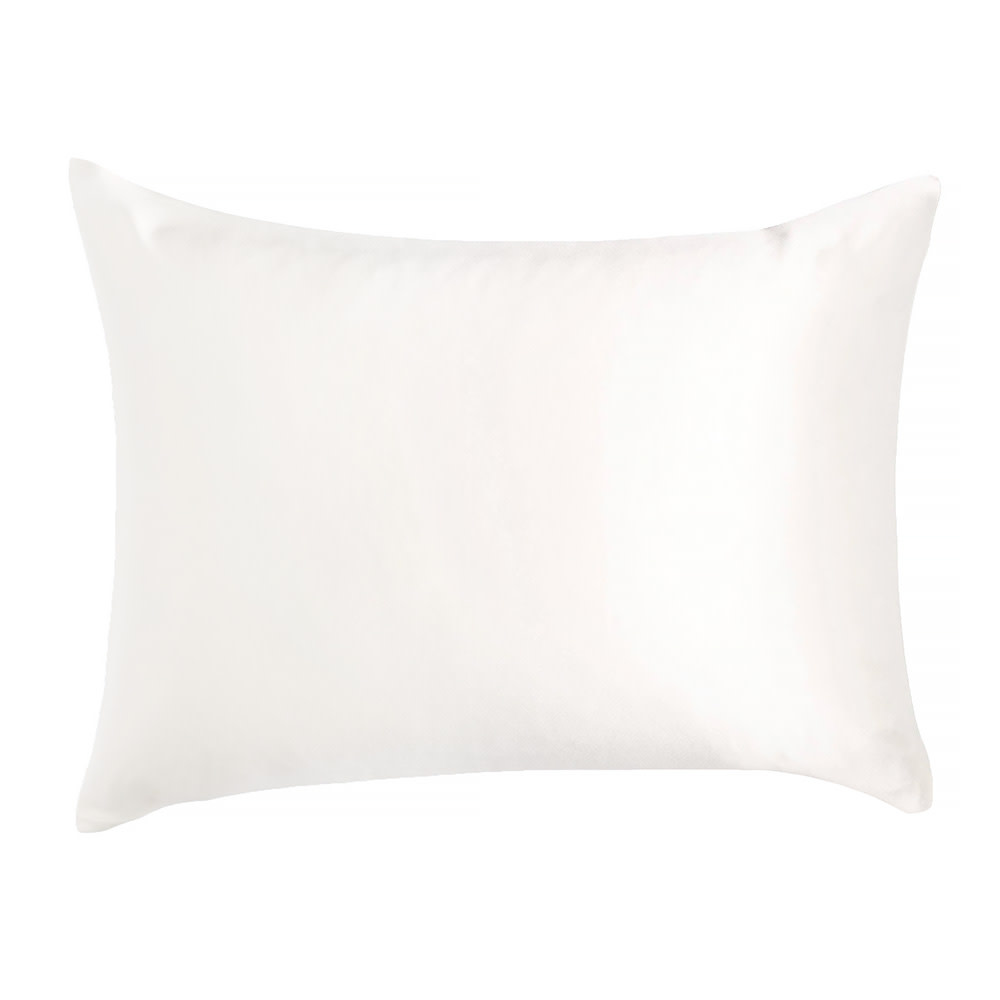 Moonlit Skincare Cloud 9 Silk Pillowcase - Standard - Ivory White
