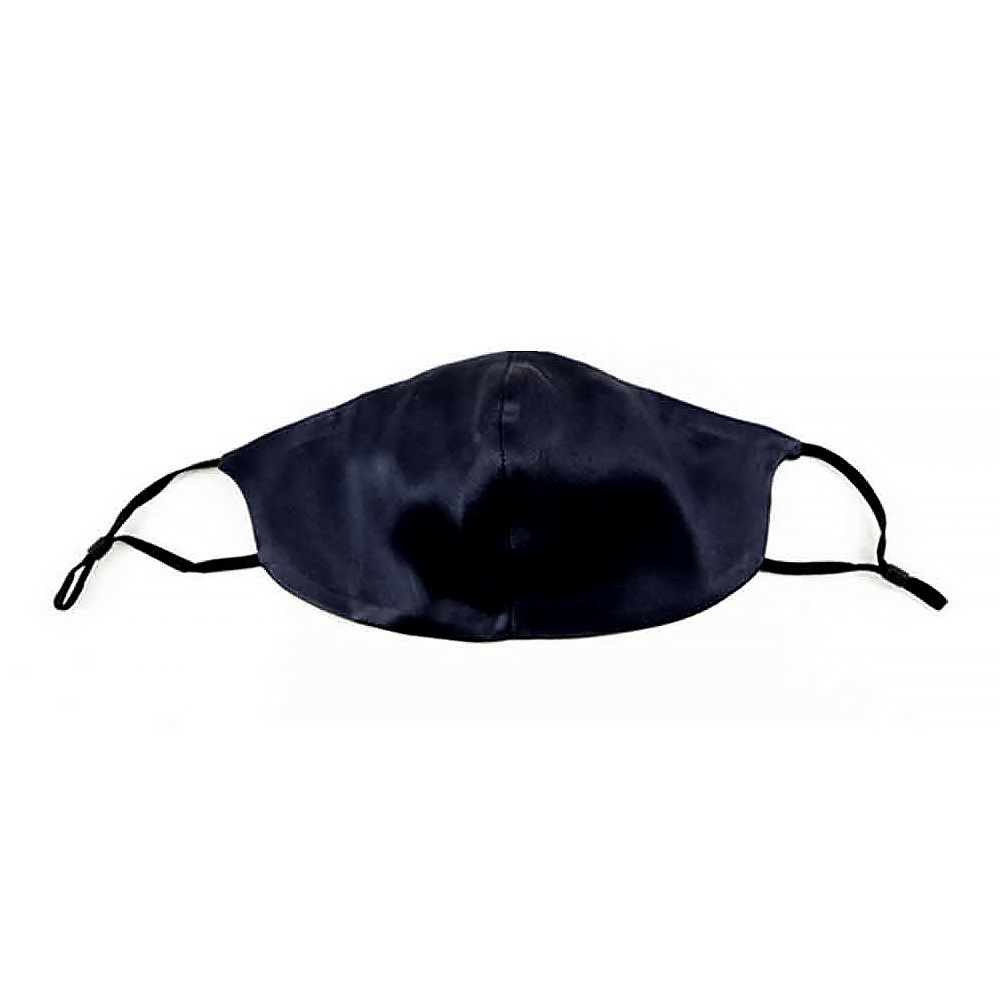 Moonlit Skincare Moonlit Skincare Silk Face Covering - Blackout Black
