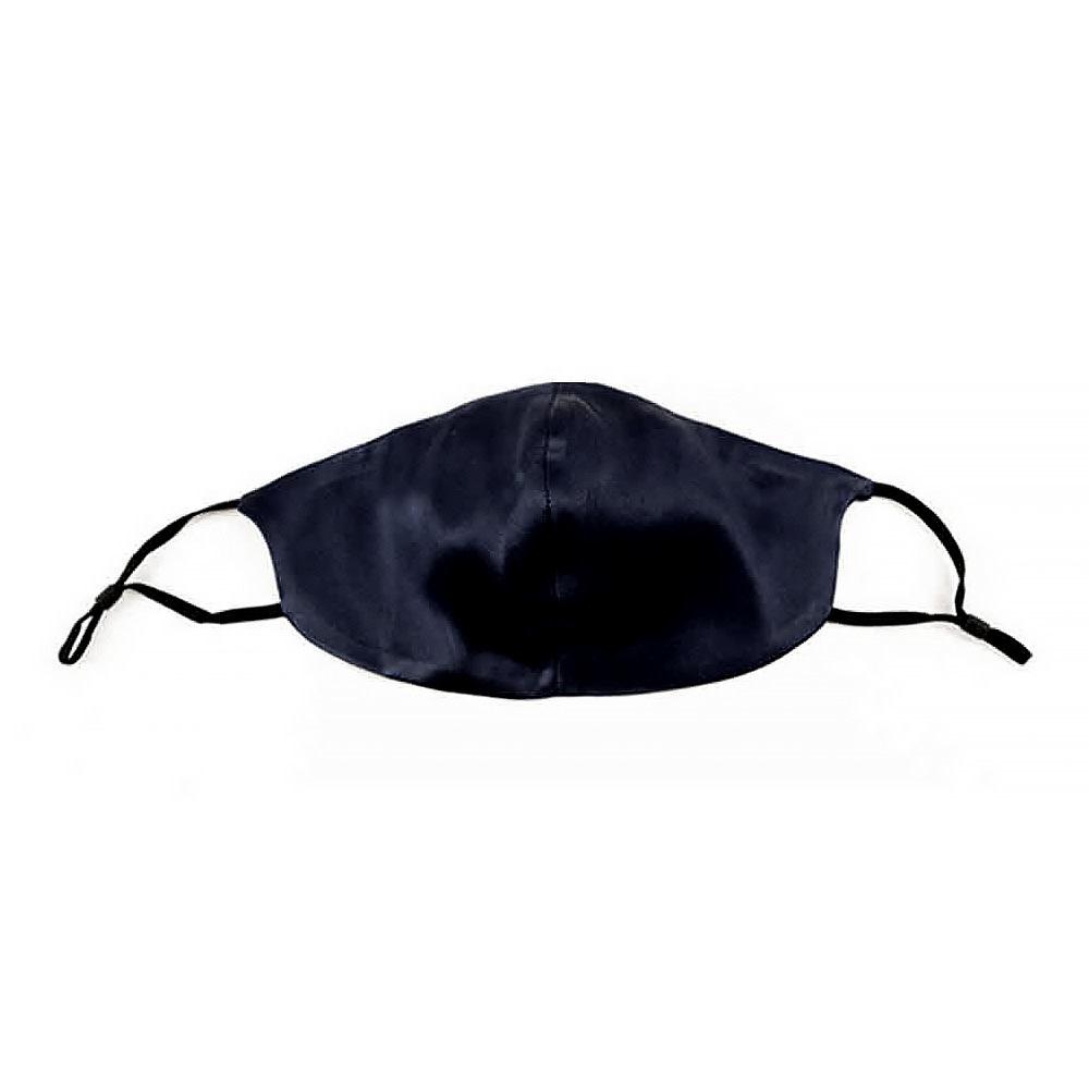 Moonlit Skincare Silk Face Covering - Blackout Black