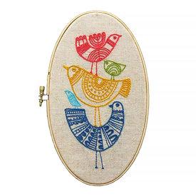 budgiegoods Lisa Congdon - Embroidery Kit - Birds
