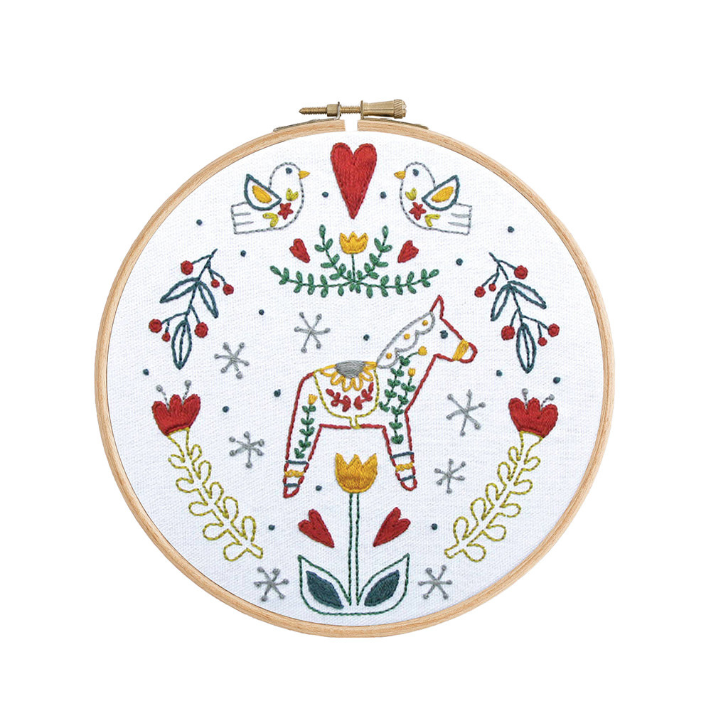 budgiegoods Little Truths Studio - Embroidery Kit -Dala