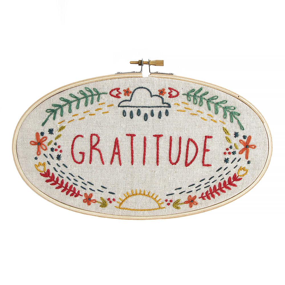 Little Truths Studio - Embroidery Kit - Gratitude