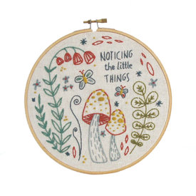 budgiegoods Little Truths Studio - Embroidery Kit - Noticing