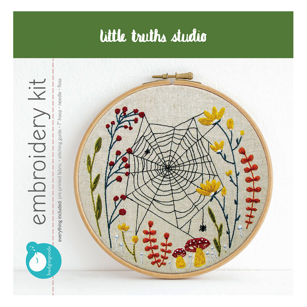 Little Truths Studio - Embroidery Kit - Woven