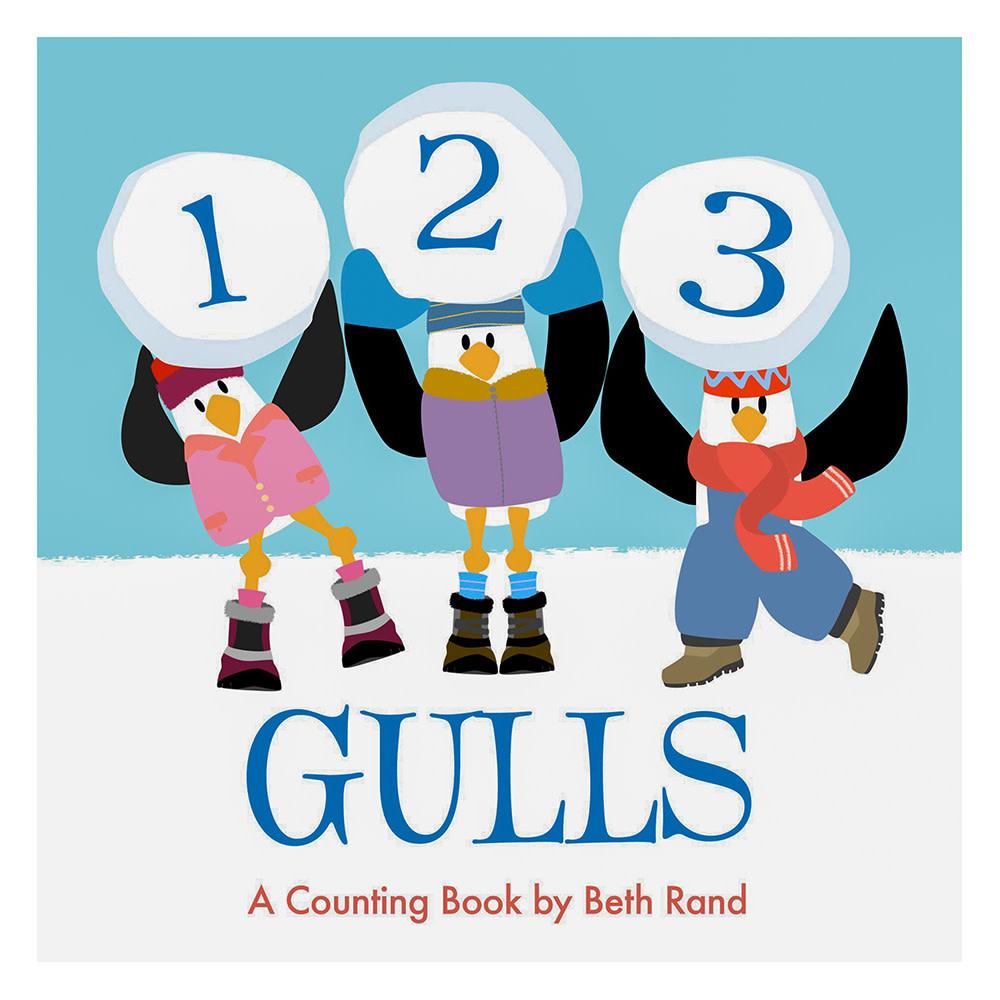 123 Gulls Board Book
