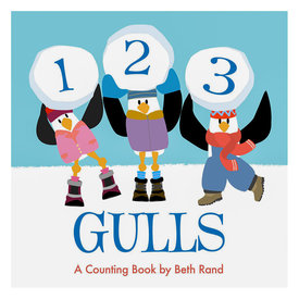 Islandport Press 123 Gulls Board Book