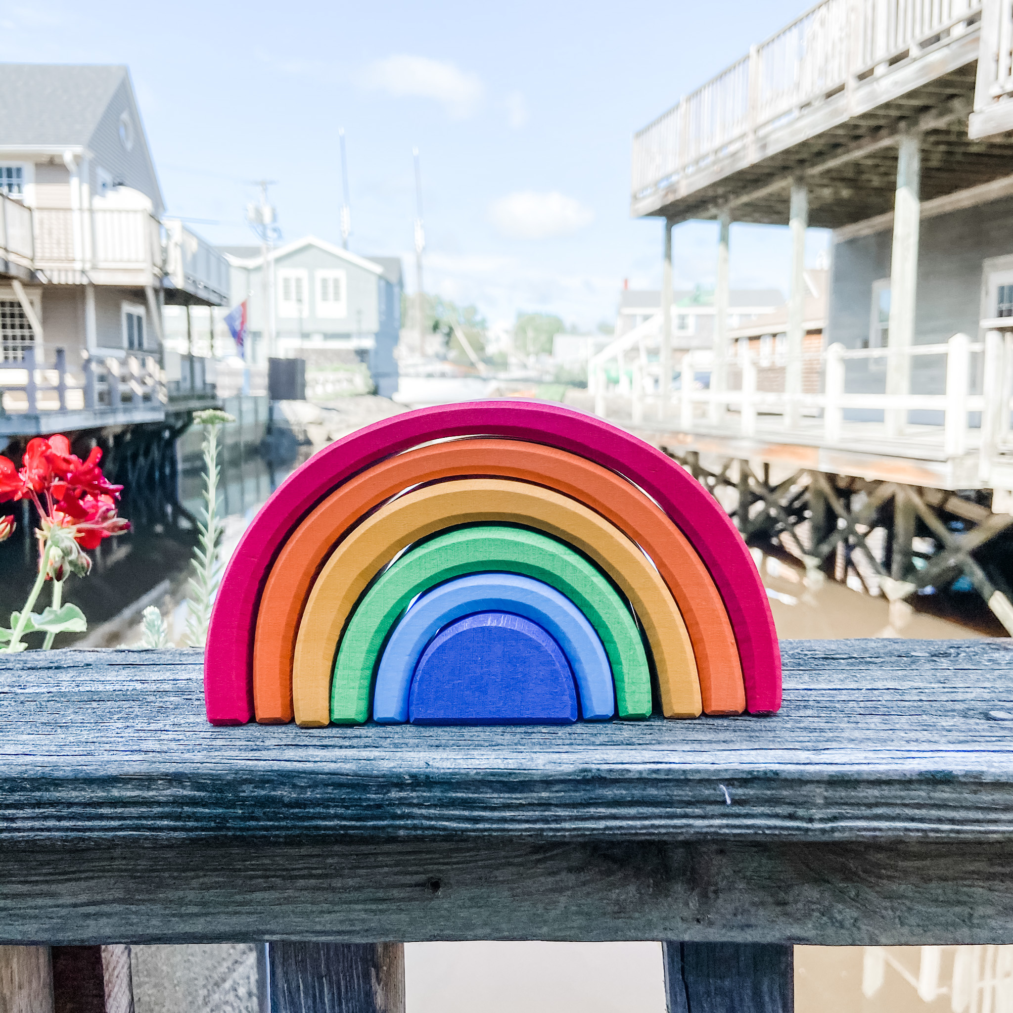 Grimms Rainbow Stacker - Small 6 Piece