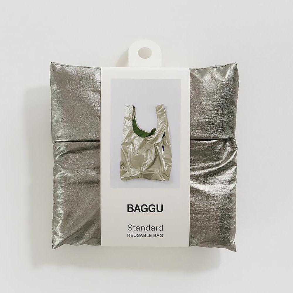 Baggu Standard - Pewter Metallic