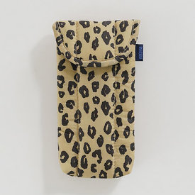 Baggu Baggu Puffy Glasses Sleeve - Honey Leopard
