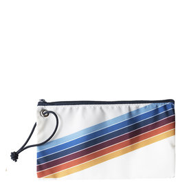 Sea Bags Sea Bags Custom Daytrip Society Retro Stripe Wristlet - Rainbow
