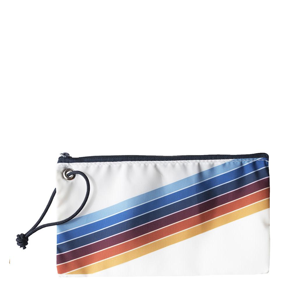 Sea Bags Custom Daytrip Society Retro Stripe Wristlet - Rainbow