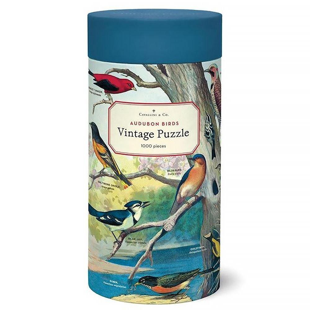 Cavallini Jigsaw Puzzle - Audubon Birds - 1000 Pieces