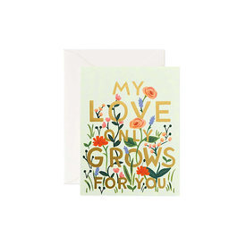Rifle Paper Co. Rifle Paper Co. Card - Love Grows