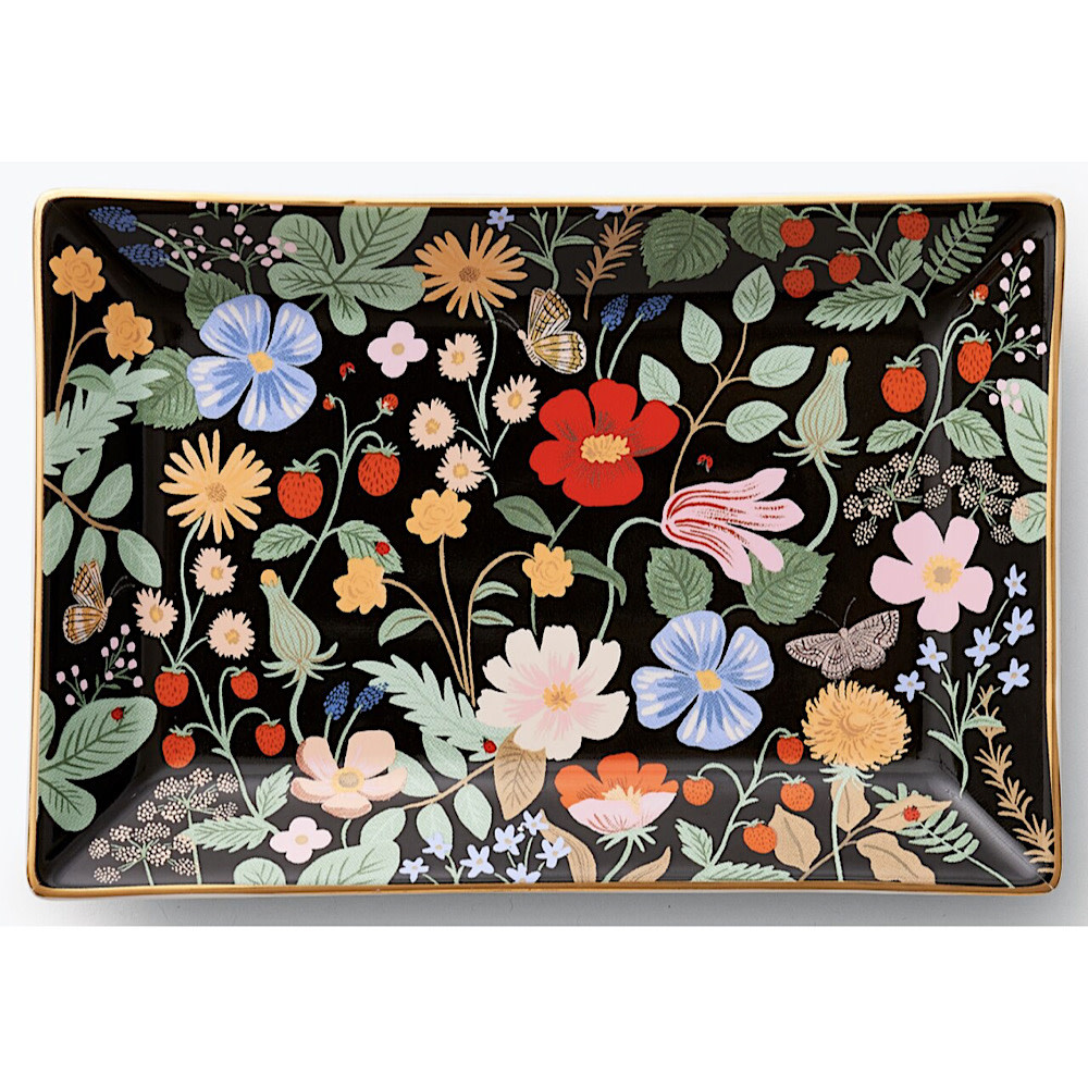 Rifle Paper Co. Rifle Paper Co. Catchall Tray - Strawberry Fields