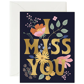 Rifle Paper Co. Rifle Paper Co. Card - I Miss You