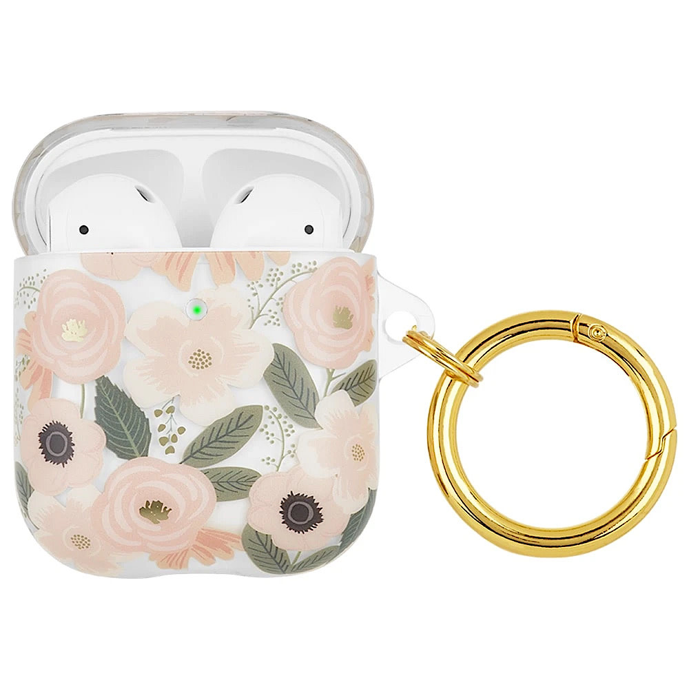 Rifle Paper Co. Rifle Paper Co. AirPod Case - Clear Wildflowers