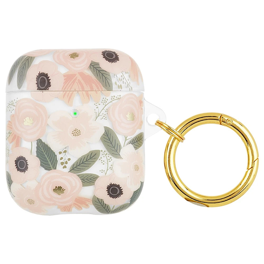 Rifle Paper Co. AirPod Case - Clear Wildflowers