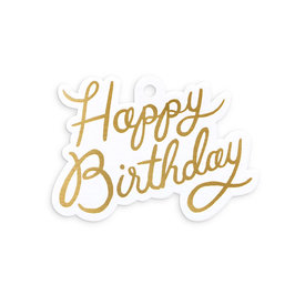 Rifle Paper Co. Rifle Paper Co. Die Cut Gift Tag - Happy Birthday
