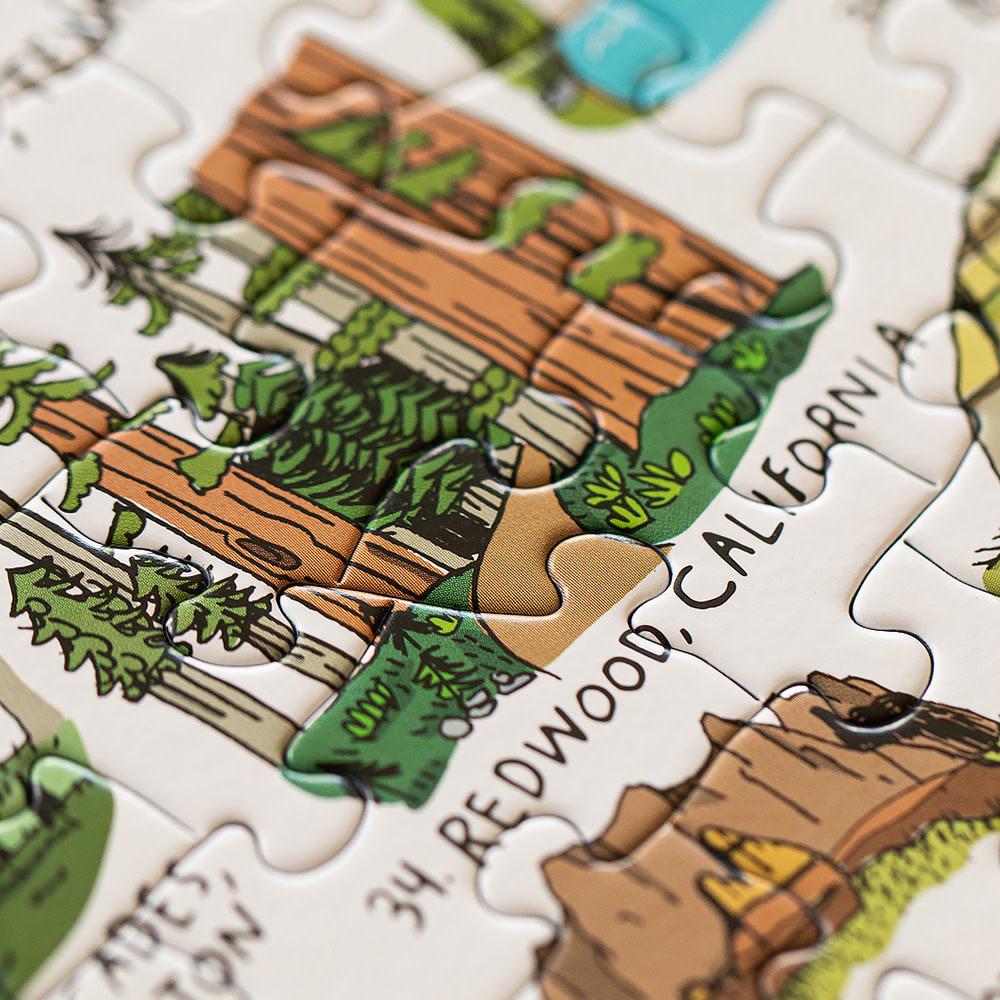 National Parks Puzzle - 500 pieces