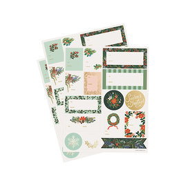 Rifle Paper Co. Rifle Paper Co. Holiday Stickers - Winter Floral