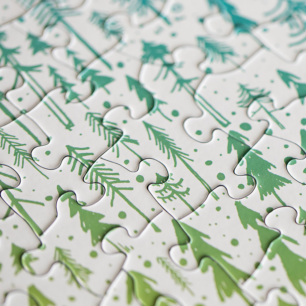Pine Tree Jigsaw Puzzle - 500 Piece