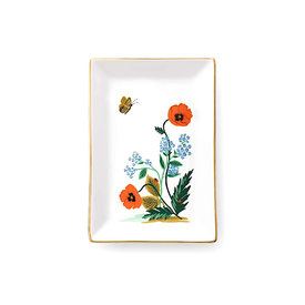 Rifle Paper Co. Rifle Paper Co. Catchall Tray - Poppy Botanical