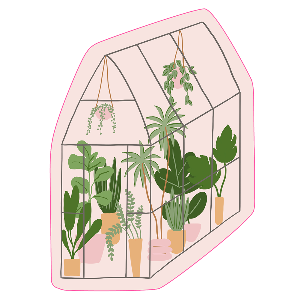 Talking Out Of Turn Sticker - Greenhouse