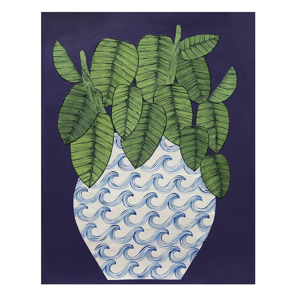 Kate Martens Kate Martens Print - Plant Portrait - Maranta Leuconeura