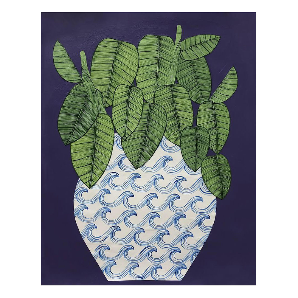 Kate Martens Print - Plant Portrait - Maranta Leuconeura
