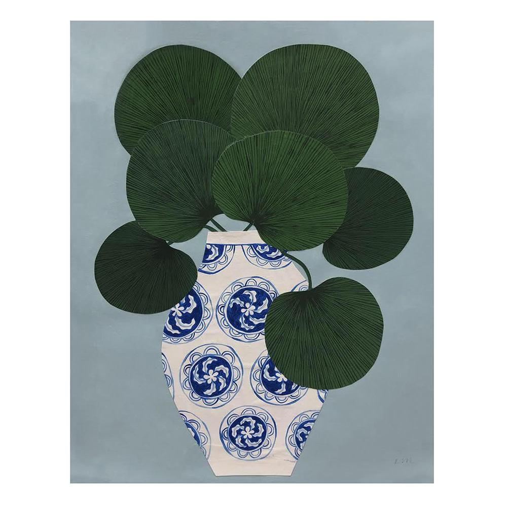 Kate Martens Print - Plant Portrait - Licuala Cordata
