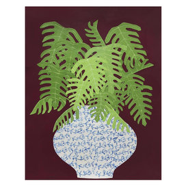 Kate Martens Kate Martens Print - Plant Portrait - Fern