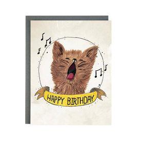 Made In Brockton Village Made In Brockton Village Card - Birthday Cat