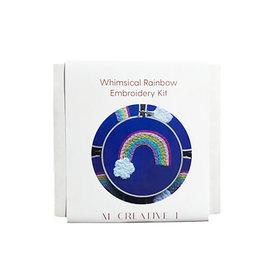 MCreativeJ Embroidery Kit - Whimsical Rainbow